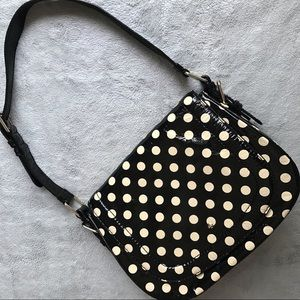 Kate Spade Piper Carlisle Street Polka Dot Bag